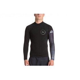 Quiksilver 1mm Syncro Series LS Neoprene Surf Top Men Black/Jet Black